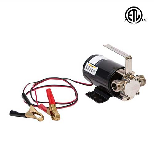 Best Water Pump for RV 10. Fpower Portable Transfer Water Pump Battery Powered Self-Priming Pump
