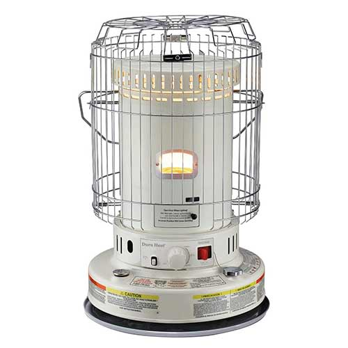 Best Portable Kerosene Heaters 2. Dura Heat DH2304S 23,800 BTU Indoor Kerosene Heater