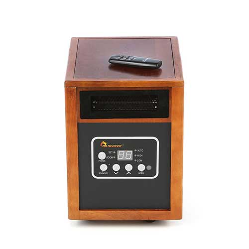 Best Space Heaters for Large Drafty Room 7. Dr. Infrared Heater 1,500 Watt Infrared Cabinet Space Heater