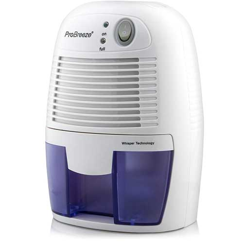 Best Small Dehumidifiers 7. Pro Breeze Electric Mini Dehumidifier