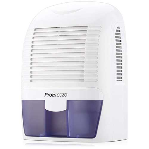 Best Small Dehumidifiers 5. Pro Breeze PB-03-US Electric Mini Dehumidifier