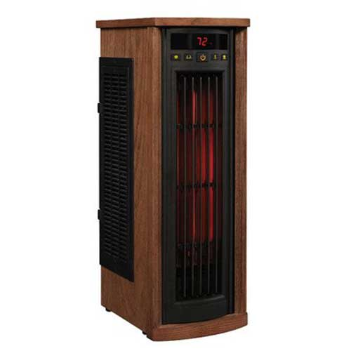 Best Space Heaters for Large Drafty Room 9. Living Better Now Electric Tower Infrared Heater Indoor Portable 1500 Watt 5200 BTU 1000 SQ FT Space