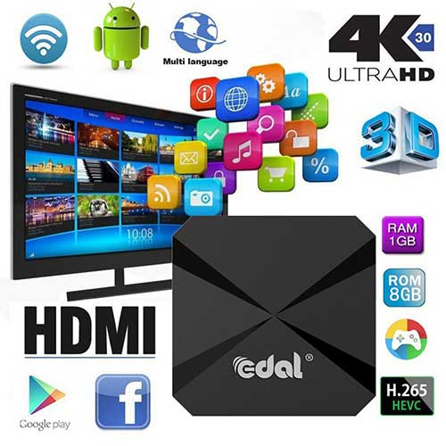 Best Android TV Boxes Under 50 10. Mercu T95E Android TV BOX