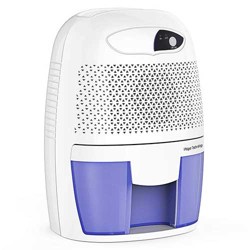 Best Small Dehumidifiers 2. Hysure Portable Mini Dehumidifier Air