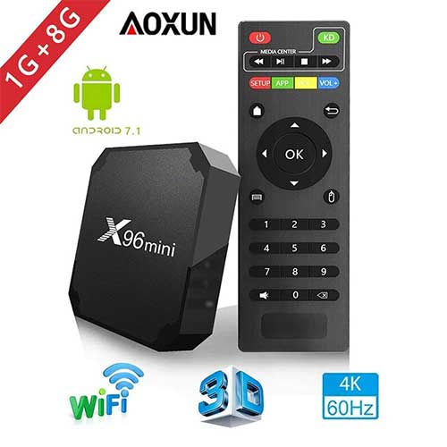Best Android TV Boxes Under 50 4. Aoxun 2018 Android TV Box - Smart TV Box