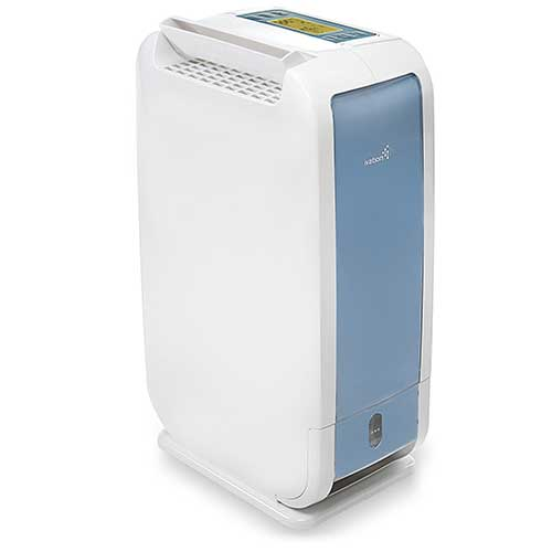 Best Small Dehumidifiers 3. Ivation 13-Pint Small-Area Desiccant Dehumidifier Compact and Quiet