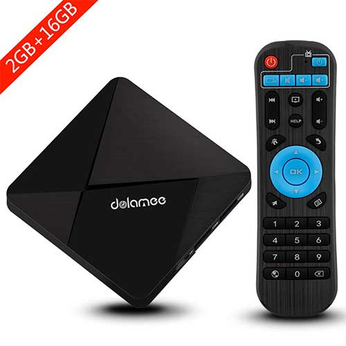 Best Android TV Boxes Under 50 8. SMALLRT Android TV Box Dolamee D5 Android 7.1 TV Box