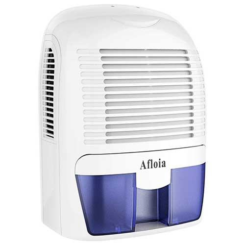 Best Small Dehumidifiers 6. Afloia Electric Home Dehumidifier