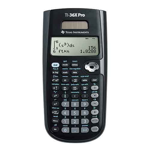 1. Texas Instruments TI-36X Pro Engineering/Scientific Calculator