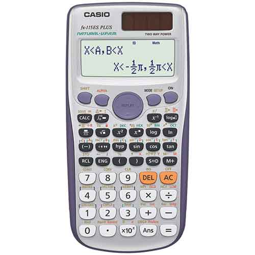 2. Casio fx-115ES PLUS Engineering/Scientific Calculator