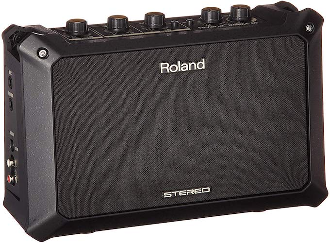 1. Roland Battery Power Acoustic Portable Guitar Amp (MOBILEAC)