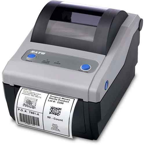 Best Shipping Label Printers 10. Sato WWCG12041 Series CG4 Thermal Desktop Printer