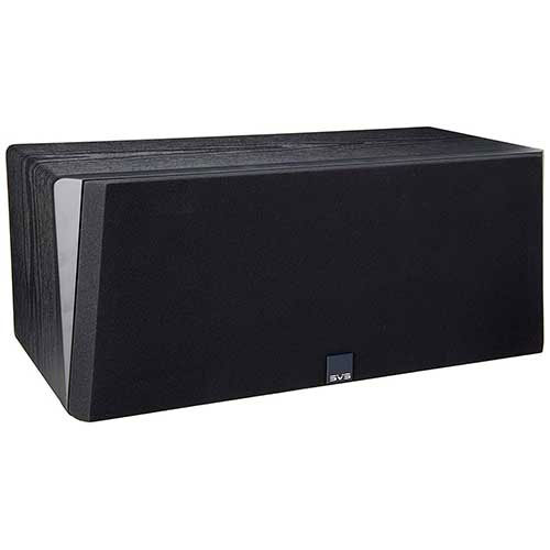 7. SVS Prime Center Speaker – Premium Black Ash