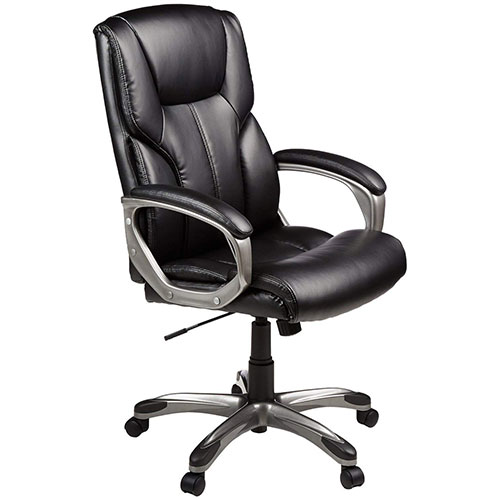 Best Office Desk Chairs Under 100 1. AmazonBasics High-Back Executive Chair