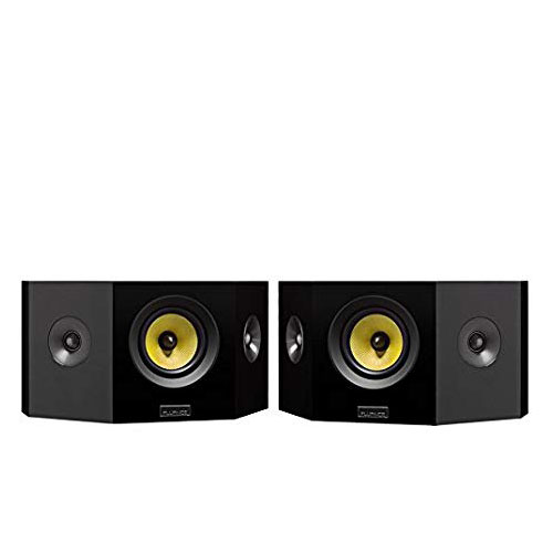 4. Fluance Signature Series Hi-Fi Bipolar Surround Sound Wide Dispersion Speakers for Home Theater (HFBP)