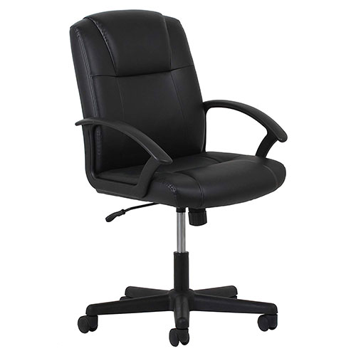 Best Office Desk Chairs Under 100 7. Essentials Leather Executive Office/Computer Chair (ESS-6000)
