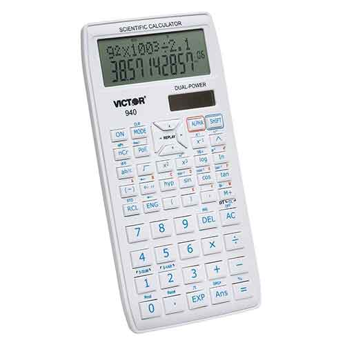 8. Victor 940 10 Digit Advanced Scientific Calculator