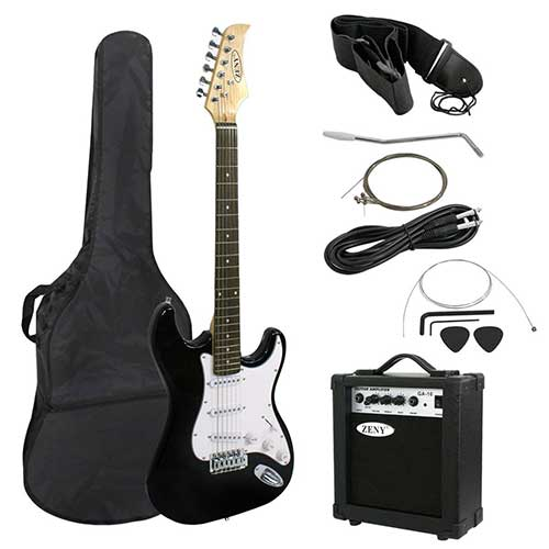 Best Beginner Electric Guitars 2. ZENY 39