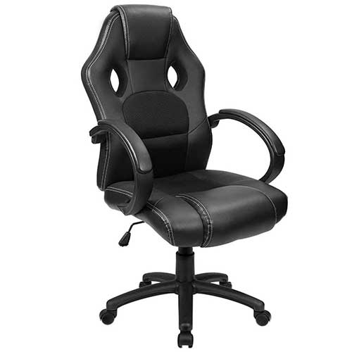 Best Office Desk Chairs Under 100 2. Furmax Office Chair Leather Desk Gaming Chair