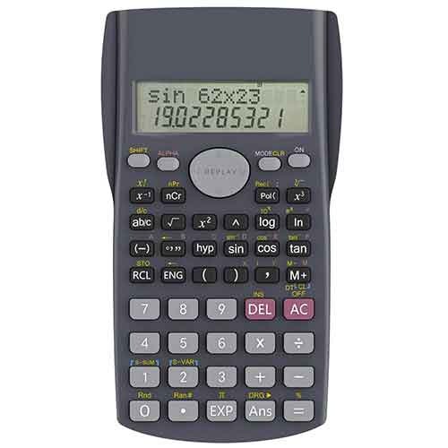 7. Helect H1002 2-Line Engineering Scientific Calculator