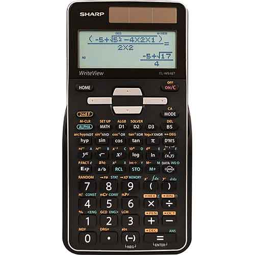 3. Sharp Calculators EL-W516TBSL Advanced Scientific Calculator