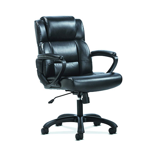 Best Office Desk Chairs Under 100 3. HON Sadie Leather Executive Computer/Office Chair (HVST305)