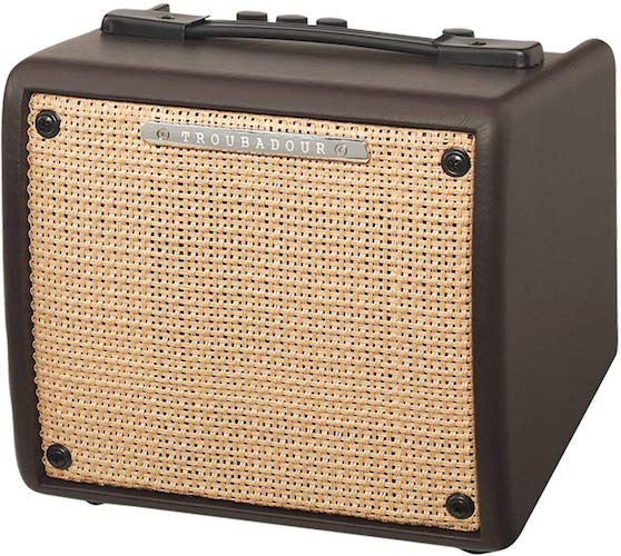 6. Ibanez T15II Troubadour II Acoustic Guitar Combo Amplifier Brown - 15 Watt