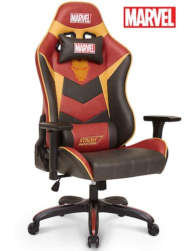 7. Licensed Marvel Premium Gaming Racing Chair Executive Office Desk Task Computer Home Chair