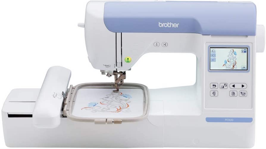 7. Brother PE800, 5x7 Embroidery Machine
