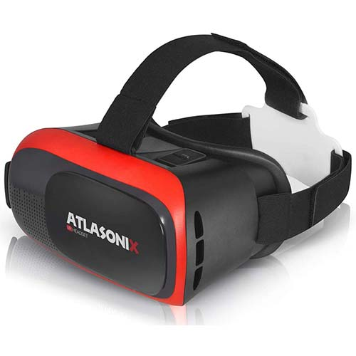 6. VR Headset for iPhone & Android Phone - Virtual Reality Goggles