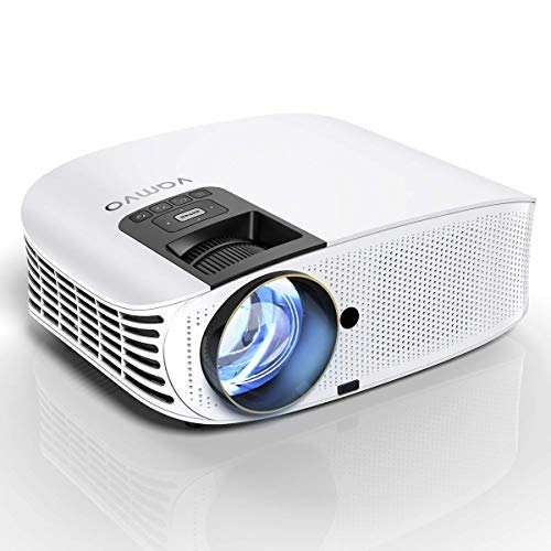 3. HD Projector Connect to Smartphone, Vamvo Movie Projector 200