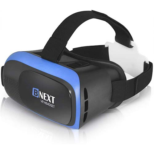 5. VR Headset for iPhone & Android Phone - Universal Virtual Reality Goggles
