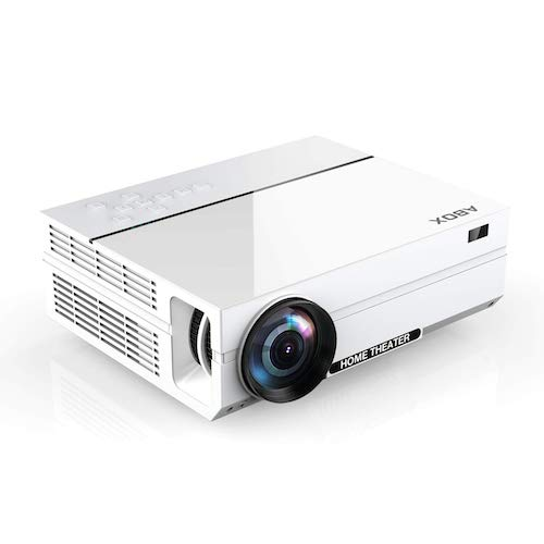 4. Projector, ABOX A6 Portable Home Theater 1080p Video Projector