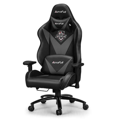 4. AutoFull Big and Tall Gaming Chair, Ergonomic Video Game Chair Adjustable Executive Office Computer Chair