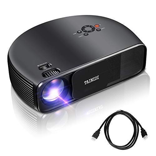 5. Projector, TAINIDI Video Projector 3600Lux, Full HD Projector with Big Screen, Home Theater Projector