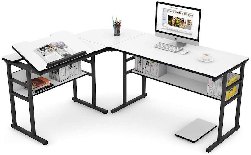 5. Tribesigns Modern L-Shaped Desk