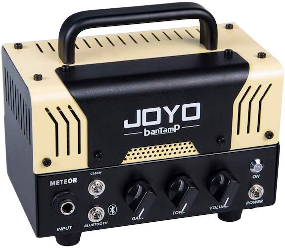 10. JOYO BantamP Series METEOR 20 Watt Mini Amp Head for Bass, Acoustic, Electronic Guitar