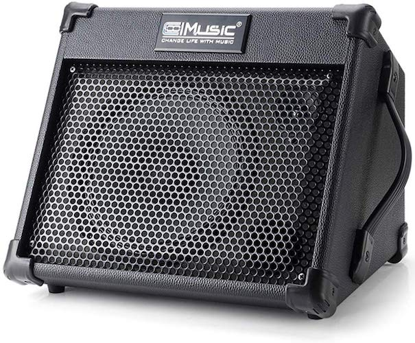 4. Acoustic Guitar Amplifier, 40 Watt Portable Rechargeable Amp for Guitar Acoustic