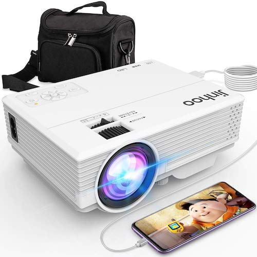 9. Jinhoo Latest Technology to Phone Projector