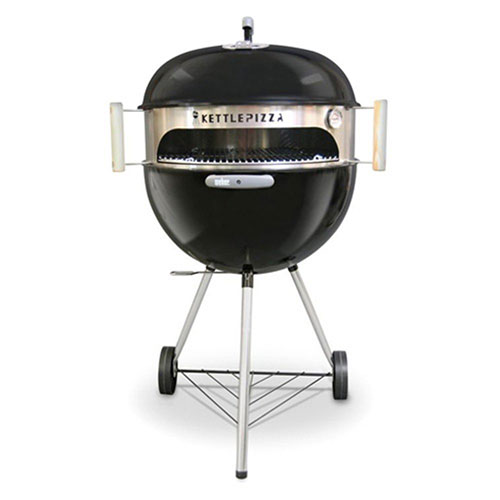 Best Outdoor Pizza Ovens 7. Made in USA KettlePizza Basic Pizza Oven Kit for 18.5 and 22.5 Inch Kettle Grills