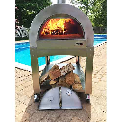 Best Outdoor Pizza Ovens 2. ilFornino Professional Series Wood Fired Pizza Oven