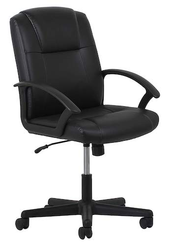 5. Essentials Leather Executive Office/Computer Chair (ESS-6000)