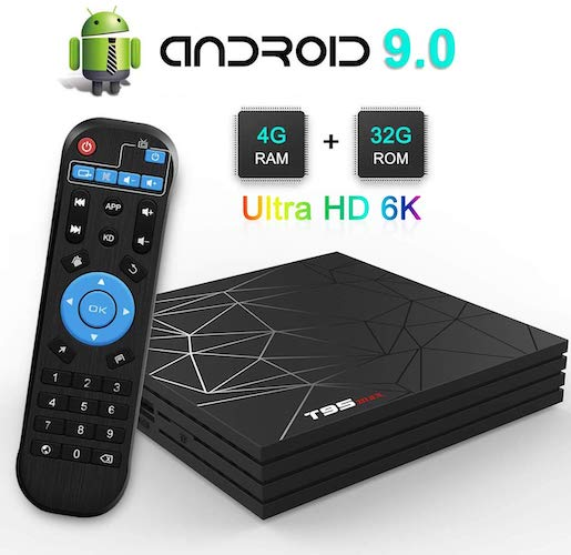 2. TV Box, TUREWELL T95 Max Android 9.0 TV Box