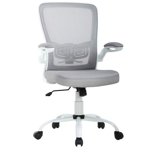 10. Office Chair Ergonomic Cheap Desk Chair Mesh Computer Chair Back Support Mid Back Executive Chair Task Rolling Swivel Chair