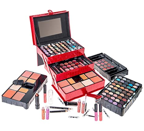 10. SHANY All In One Makeup Kit (Eyeshadow, Blushes, Powder, Lipstick & More) Holiday Exclusive