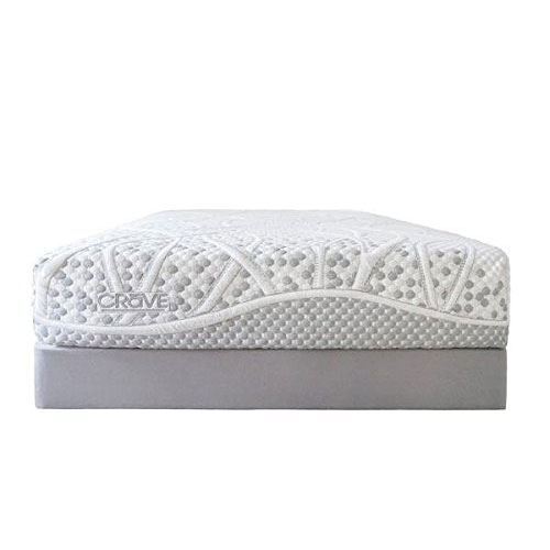 Best California King Mattress 9. Crave Ultra Plush Hybrid Mattress | Memory Foam & Innerspring Designed for Comfort (California King) - Made in the USA