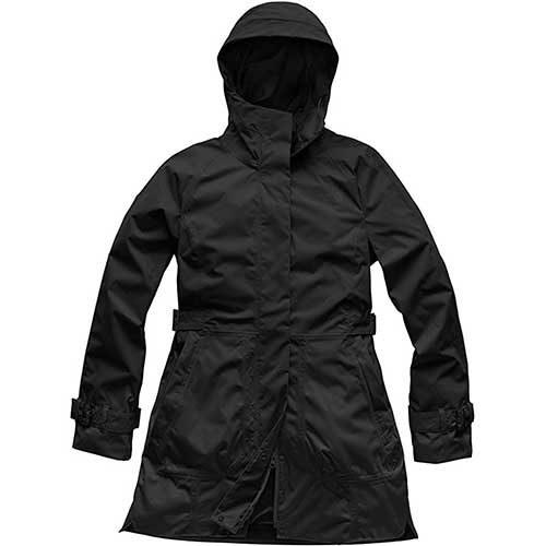 9. The North Face Women's City Breeze Rain Trench
