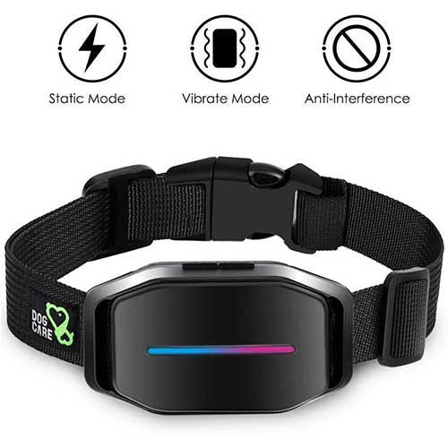 5. Dog Bark Collar - Effective Bark Collar for Dogs, Sound, Vibration & Automatic 7 Levels Shock Modes Training Collar w/LED Indicator, Easy to Use Dog Shock Collars