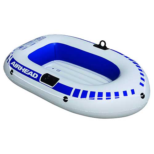 Best Inflatable Rafts 5. AIRHEAD Inflatable Boat, 1 person