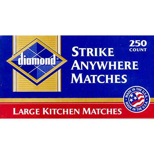 Best Strike Anywhere Matches 5. Diamond - Last Version of The Red Tip Match - Rare & HARD to Find!